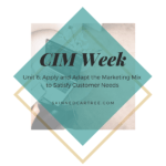 Notes for CIM Certificate in Professional Marketing Unit 6