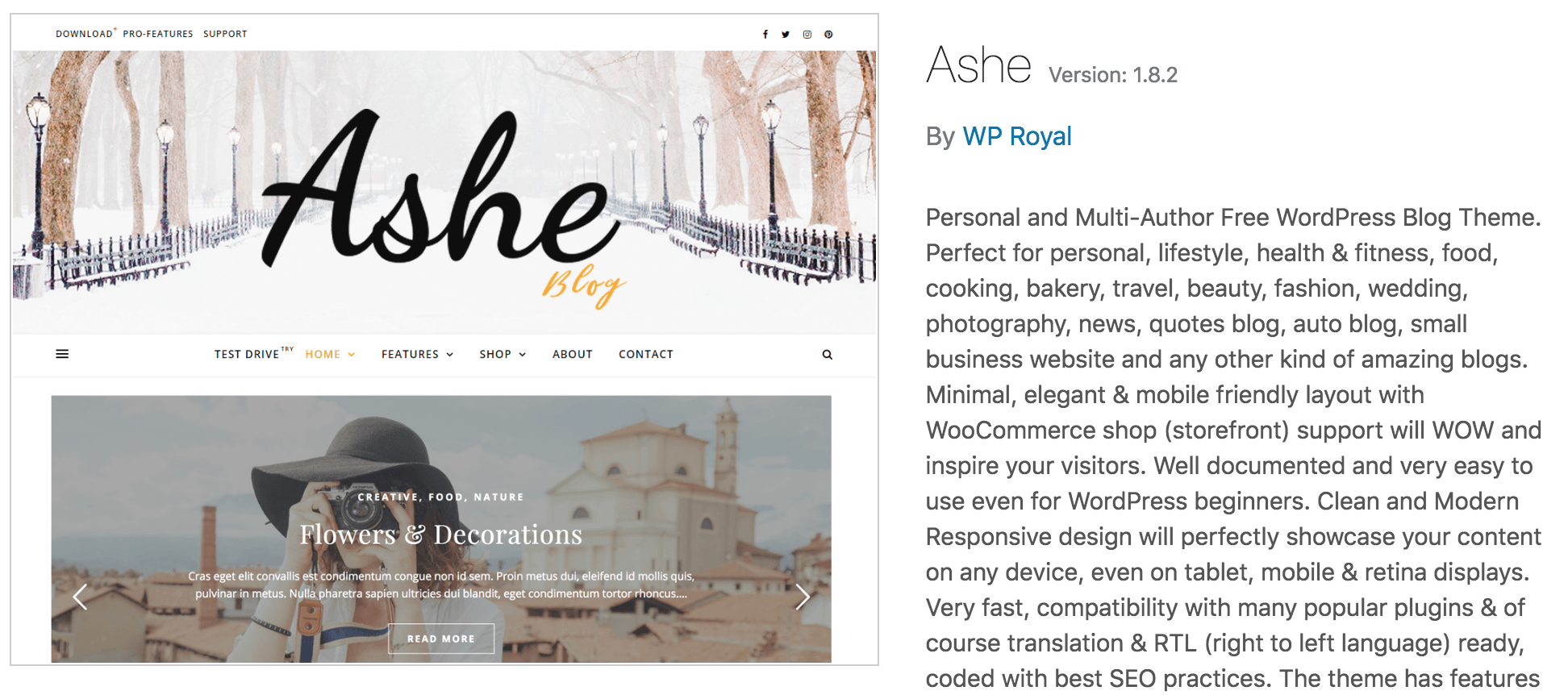 9 beautiful free WordPress themes for bloggers