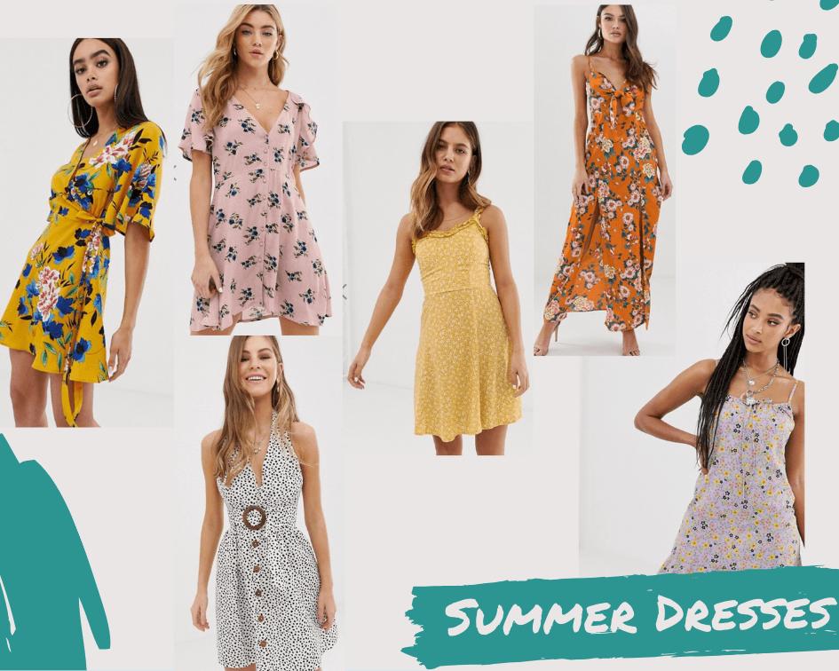 Summer dresses from ASOS under £30