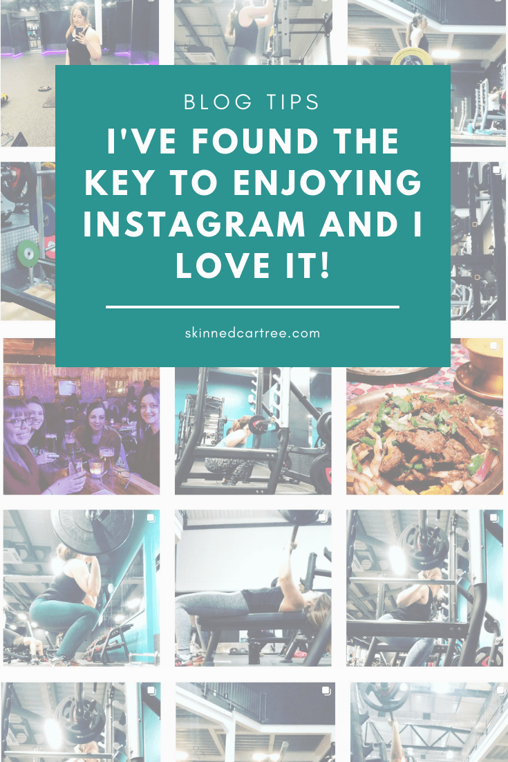 I've found the key to enjoying Instagram and I love it!