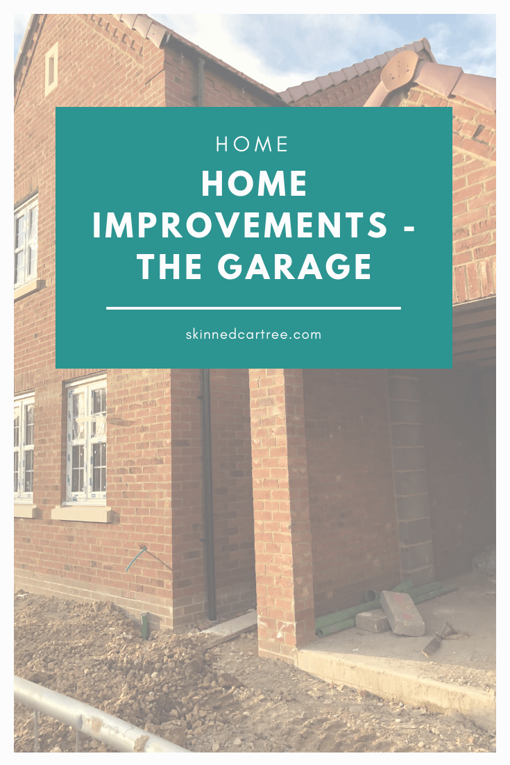 What home improvements we have for our new house // The Garage
