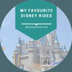 My favourite Disney rides