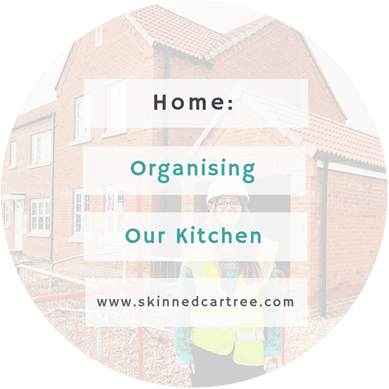 Organising our new kitchen