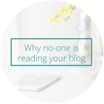 Why no-one is reading your blog