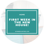 First week in our new house!
