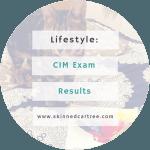 CIM Marketing Exam Results