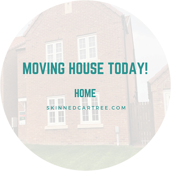 We moved house!