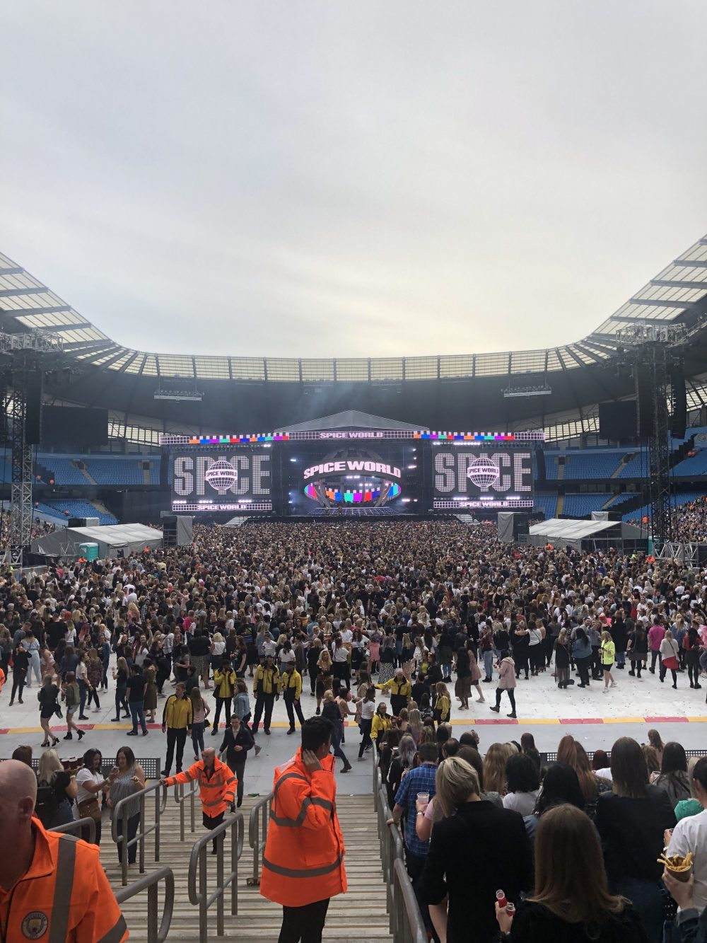Spice Girls in Manchester 2019