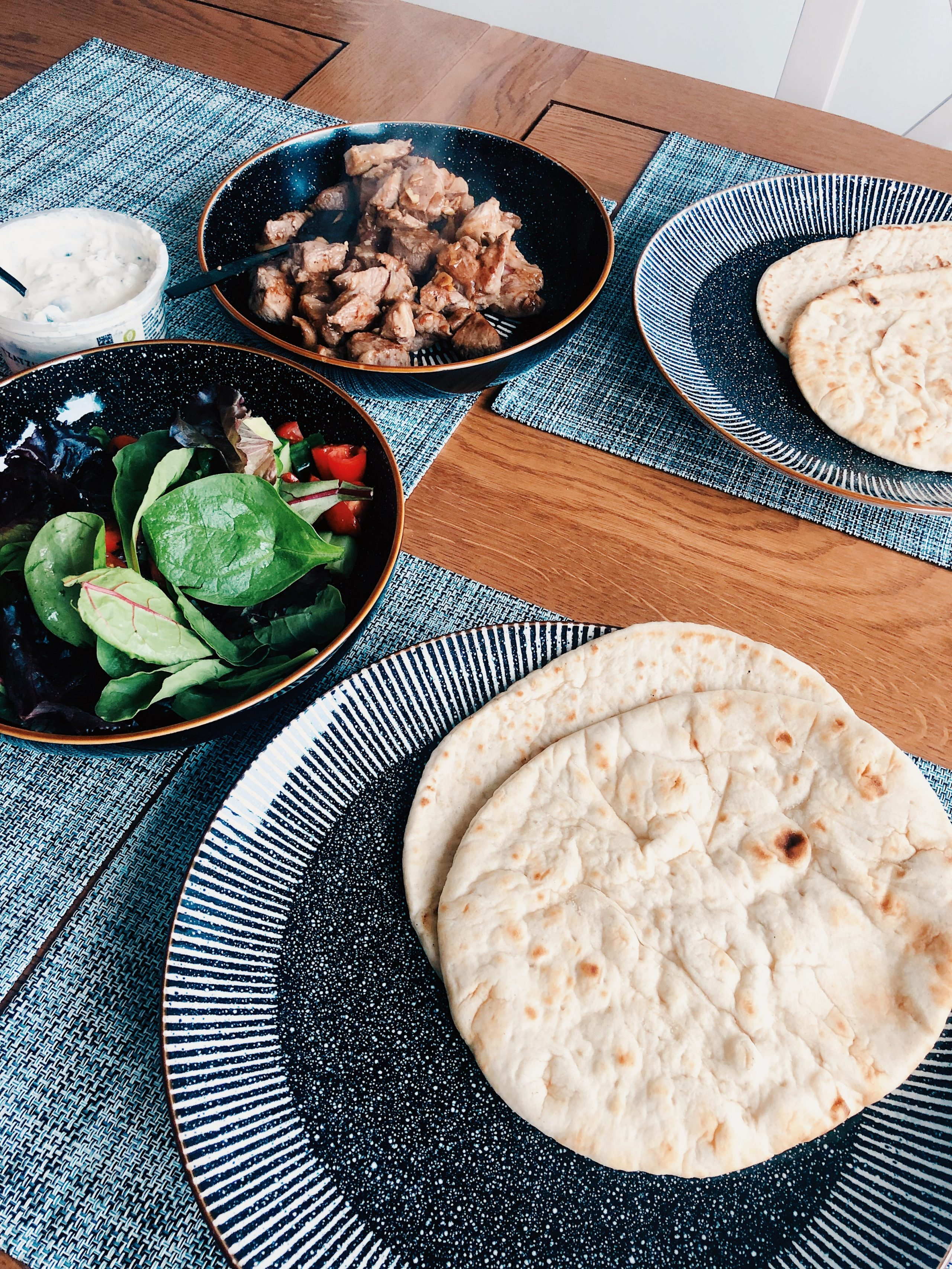 Quick and Simple Lamb Gyros