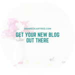 Get Your New Blog Out There