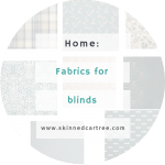 Fabrics for blinds