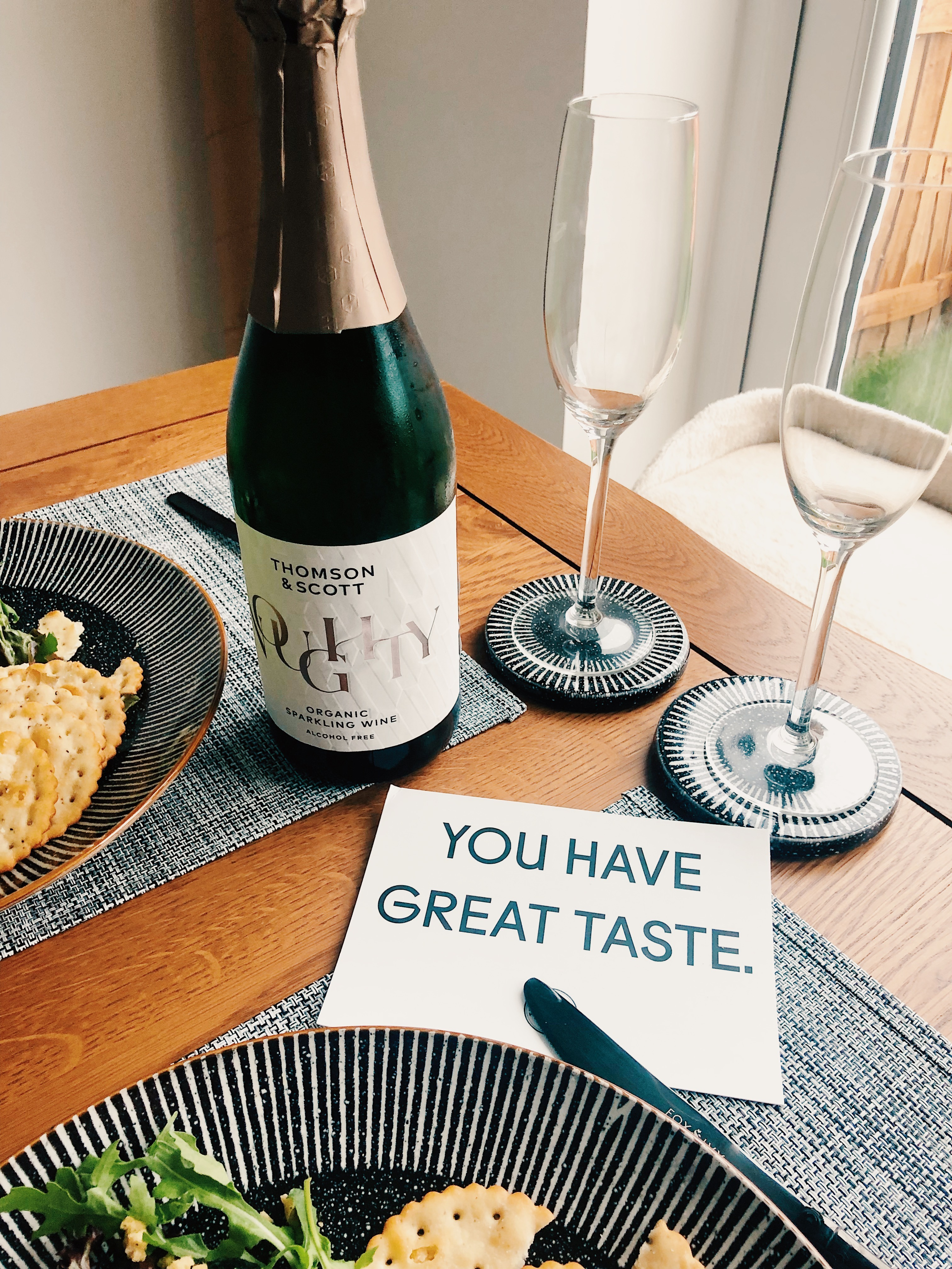 Noughty Alcohol Free Sparkling Wine