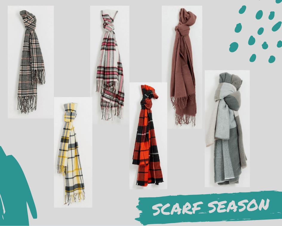 Scarf season is coming!
