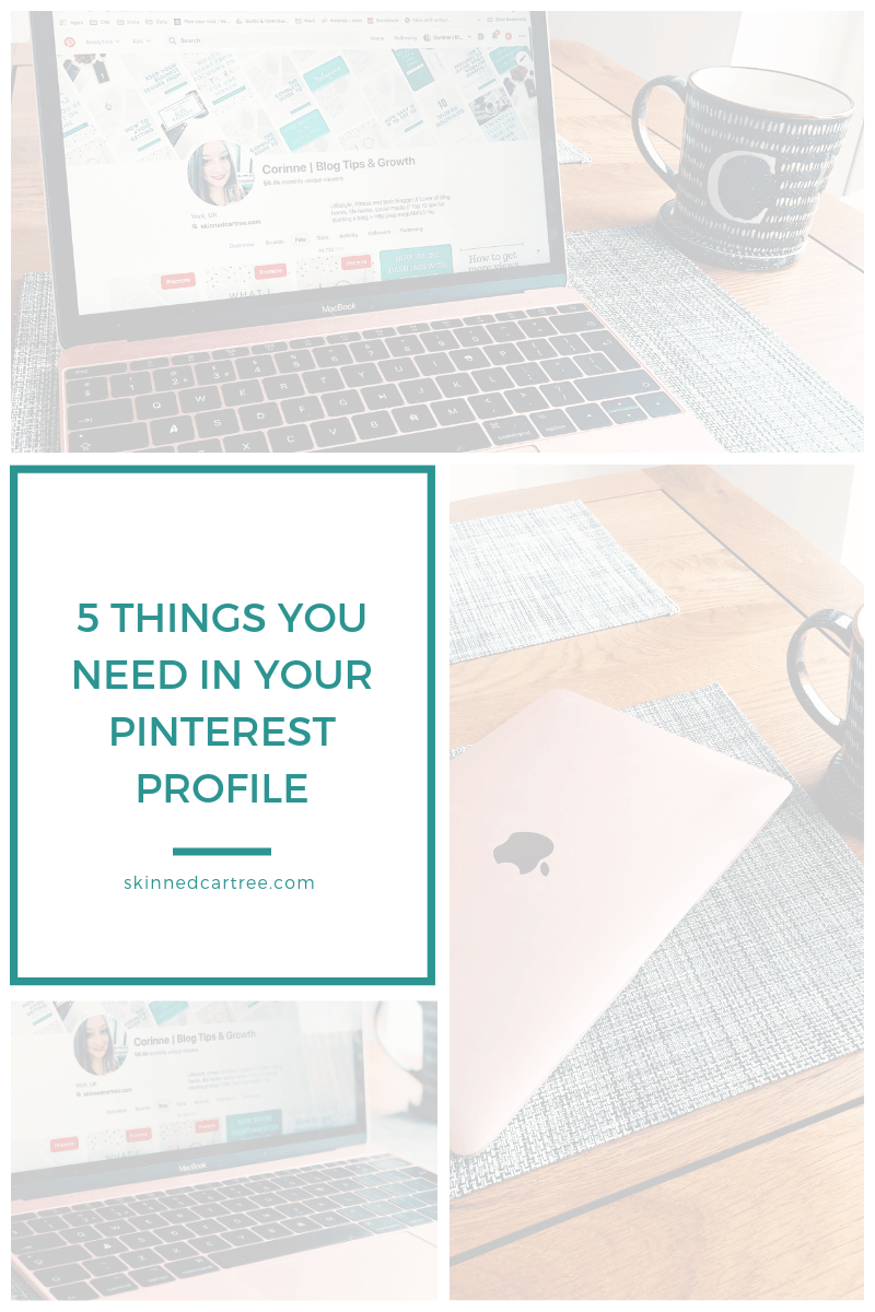 5 things you need in your Pinterest profile