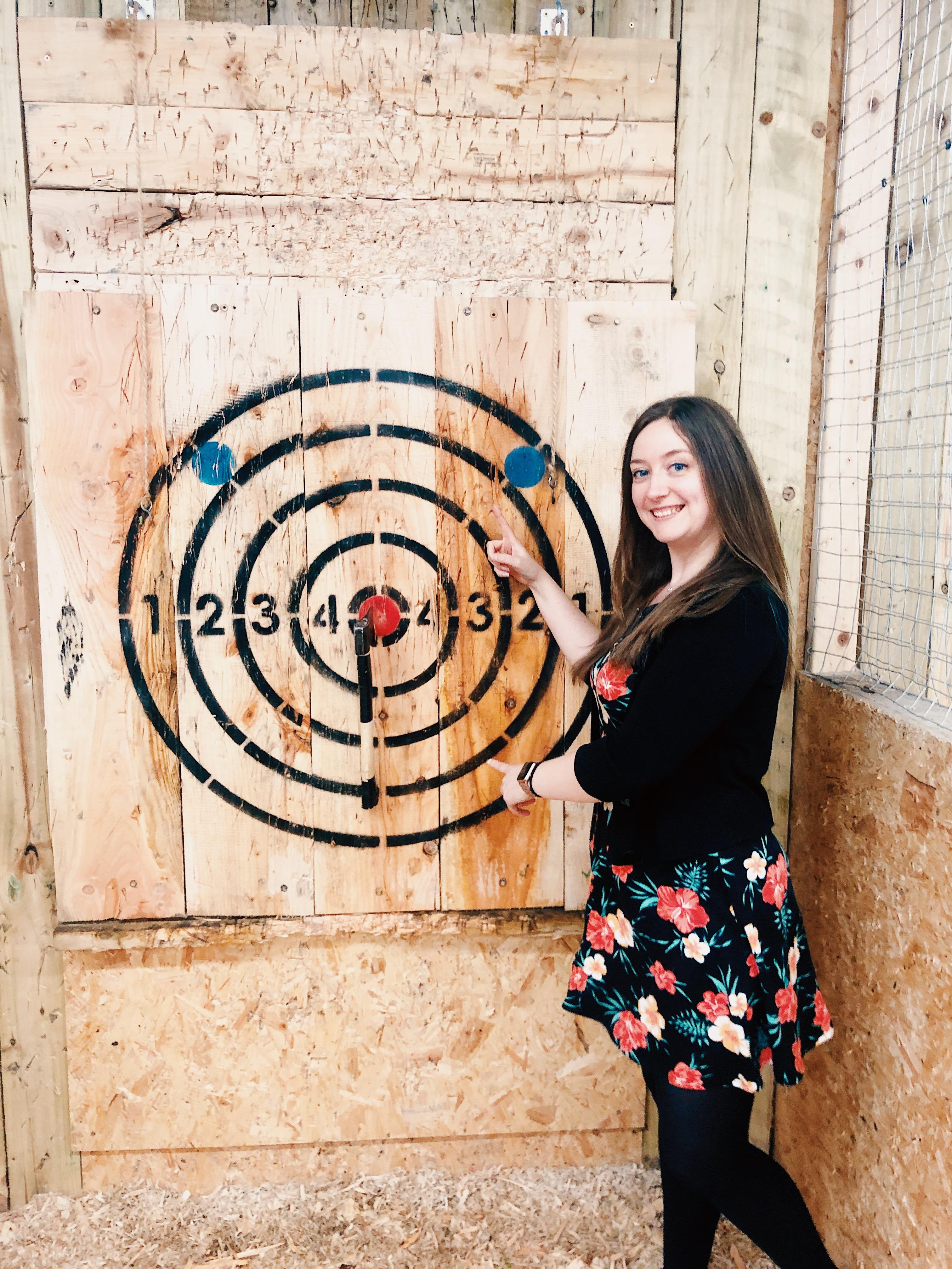axe throwing timberjacks leeds review