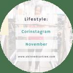 Corinstagram November