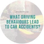 What Driving Behaviours Lead to Car Accidents?