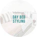 Day bed styling!