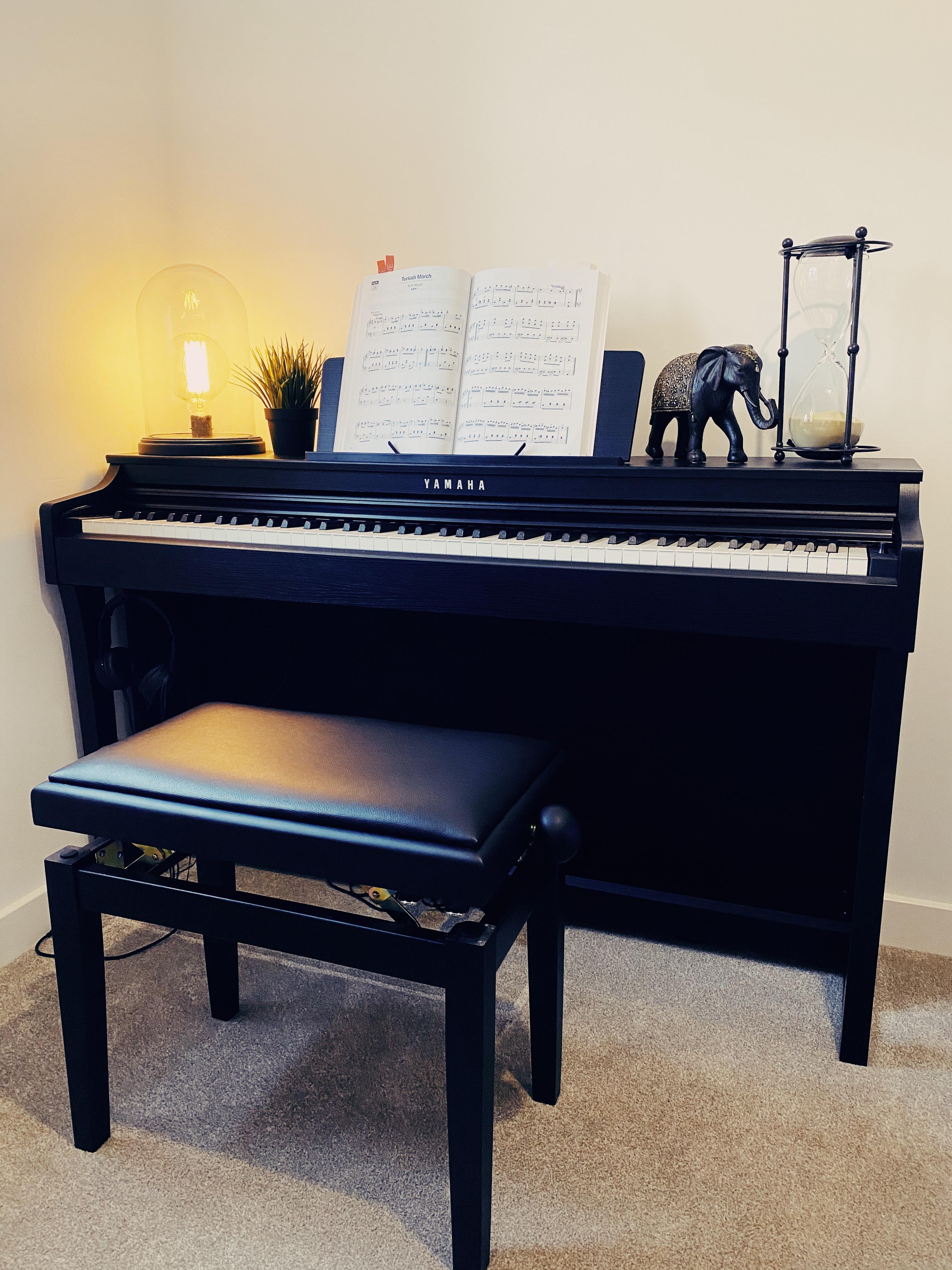 yamaha clp625 piano update