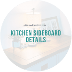 Kitchen Sideboard Details