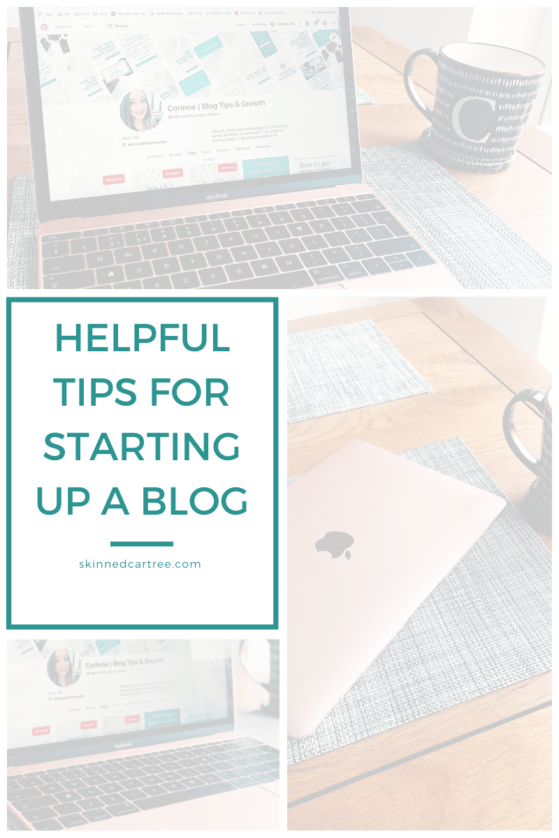 tops for starting a blog