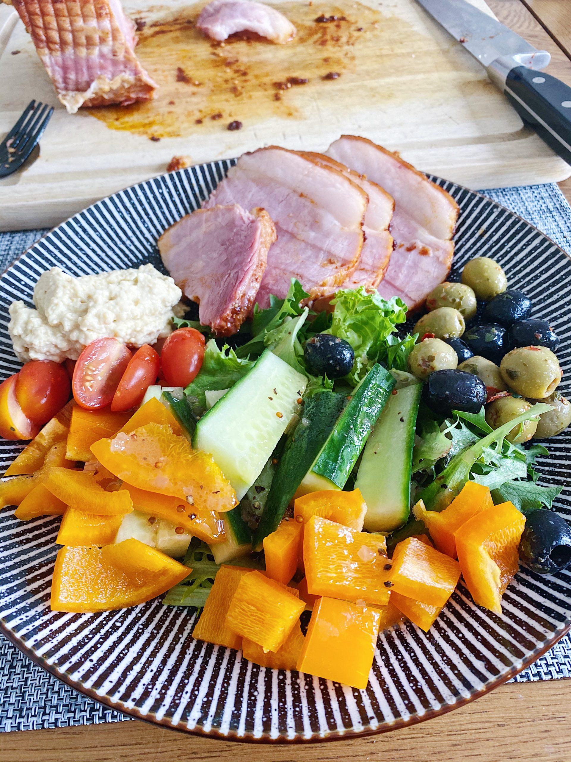 salad gammon