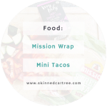 Making my own street tacos with Mission Wraps