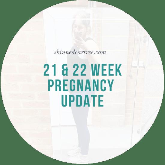 Pregnancy Diary : Week 21 & 22