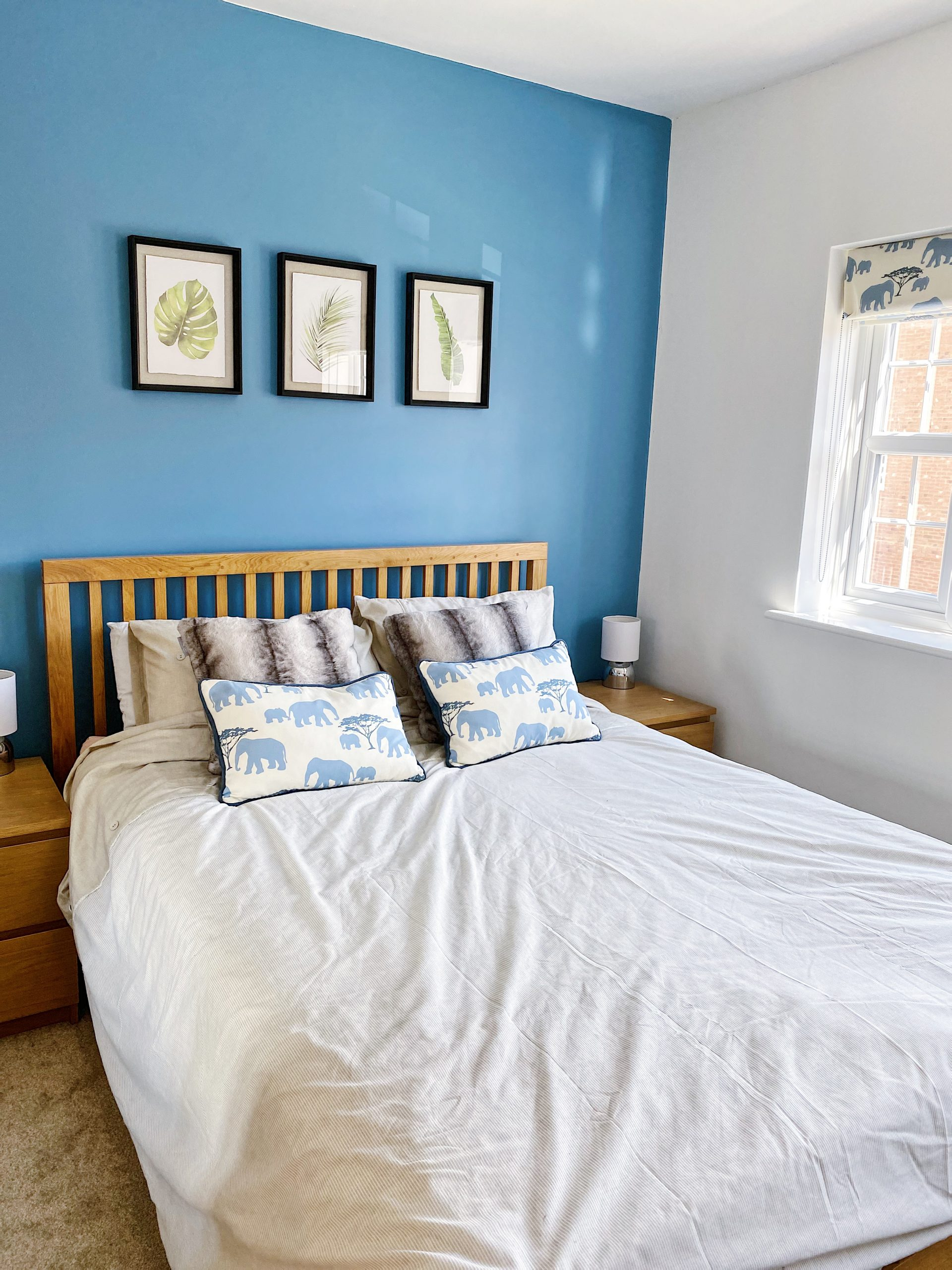 york home blogger bedroom decorate