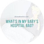 What's in my hospital bag // Baby Edition