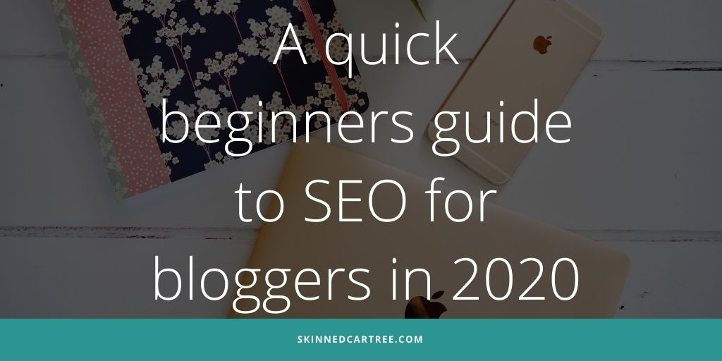 seo tips for bloggers twitter graphic
