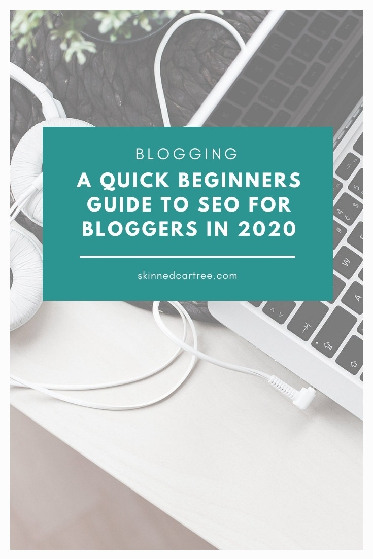seo tips for bloggers pinterest graphic