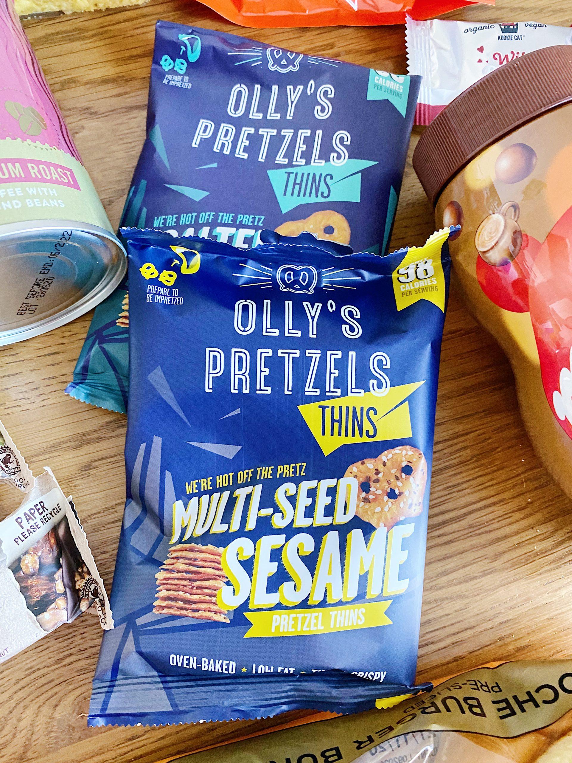 Degustabox October olly's pretzels