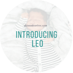 Introducing my son, Leo