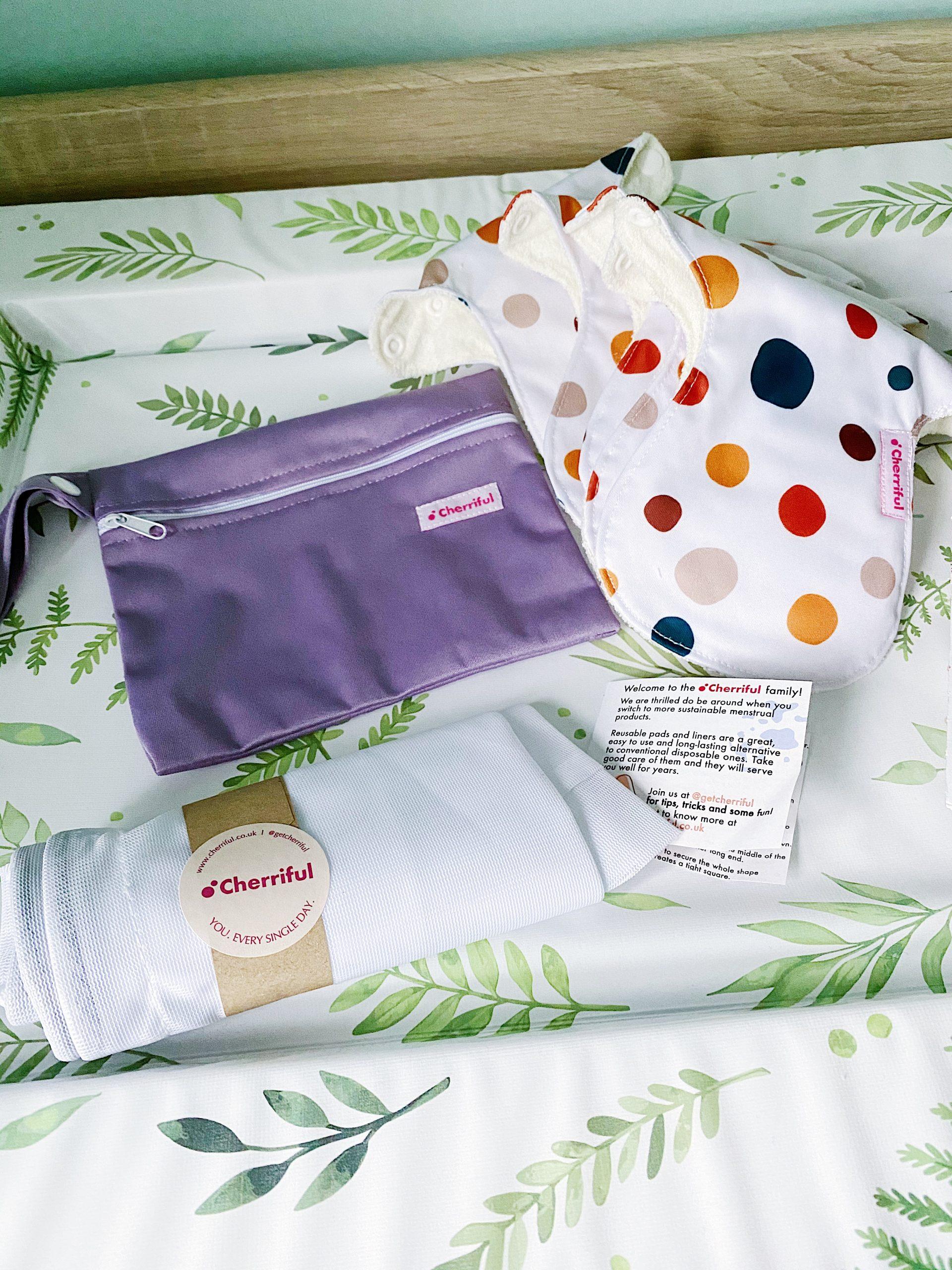 Cherriful Reusable Maternity & Period Pads
