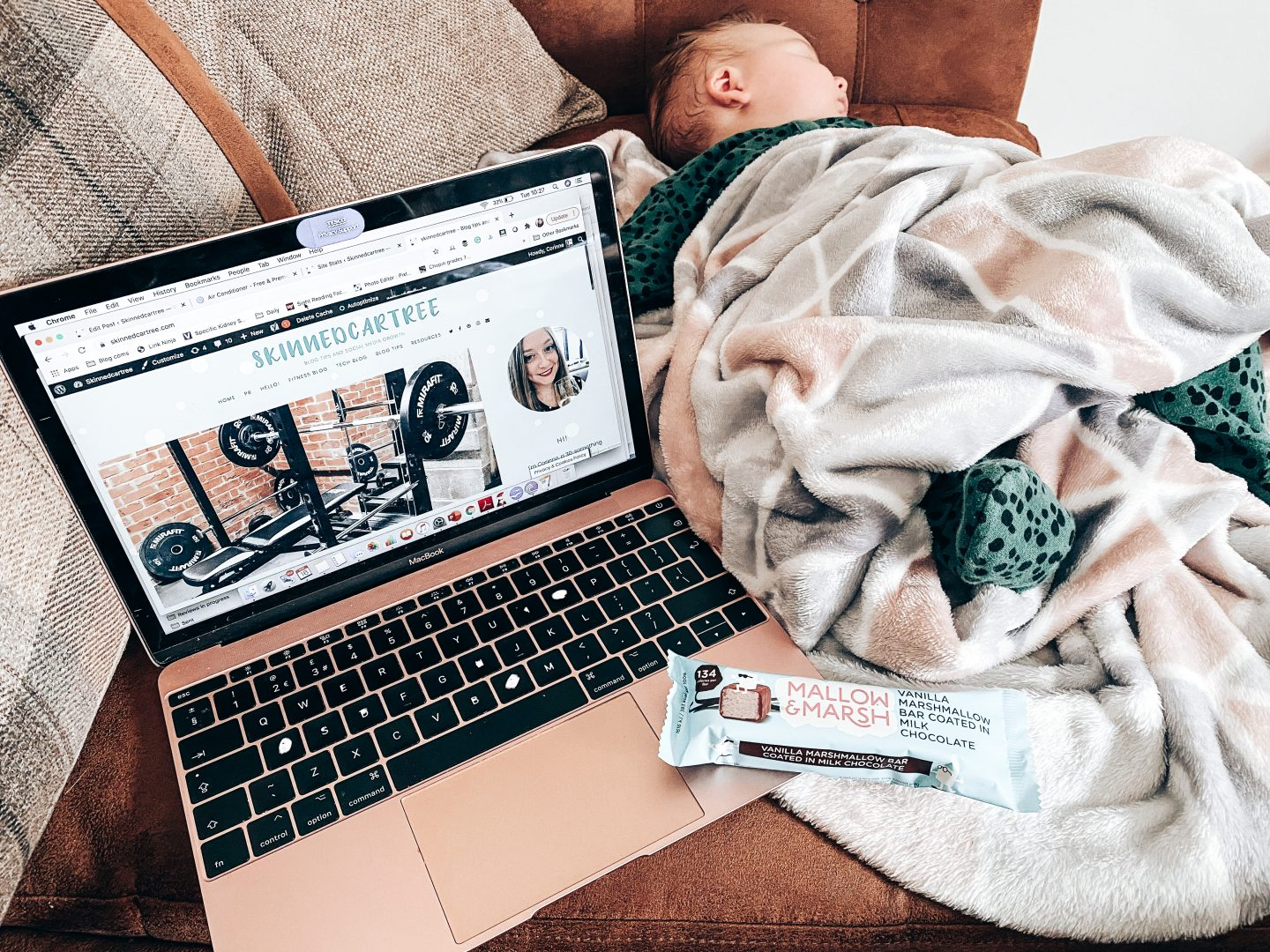 9 tips for finding time to blog when you have a baby