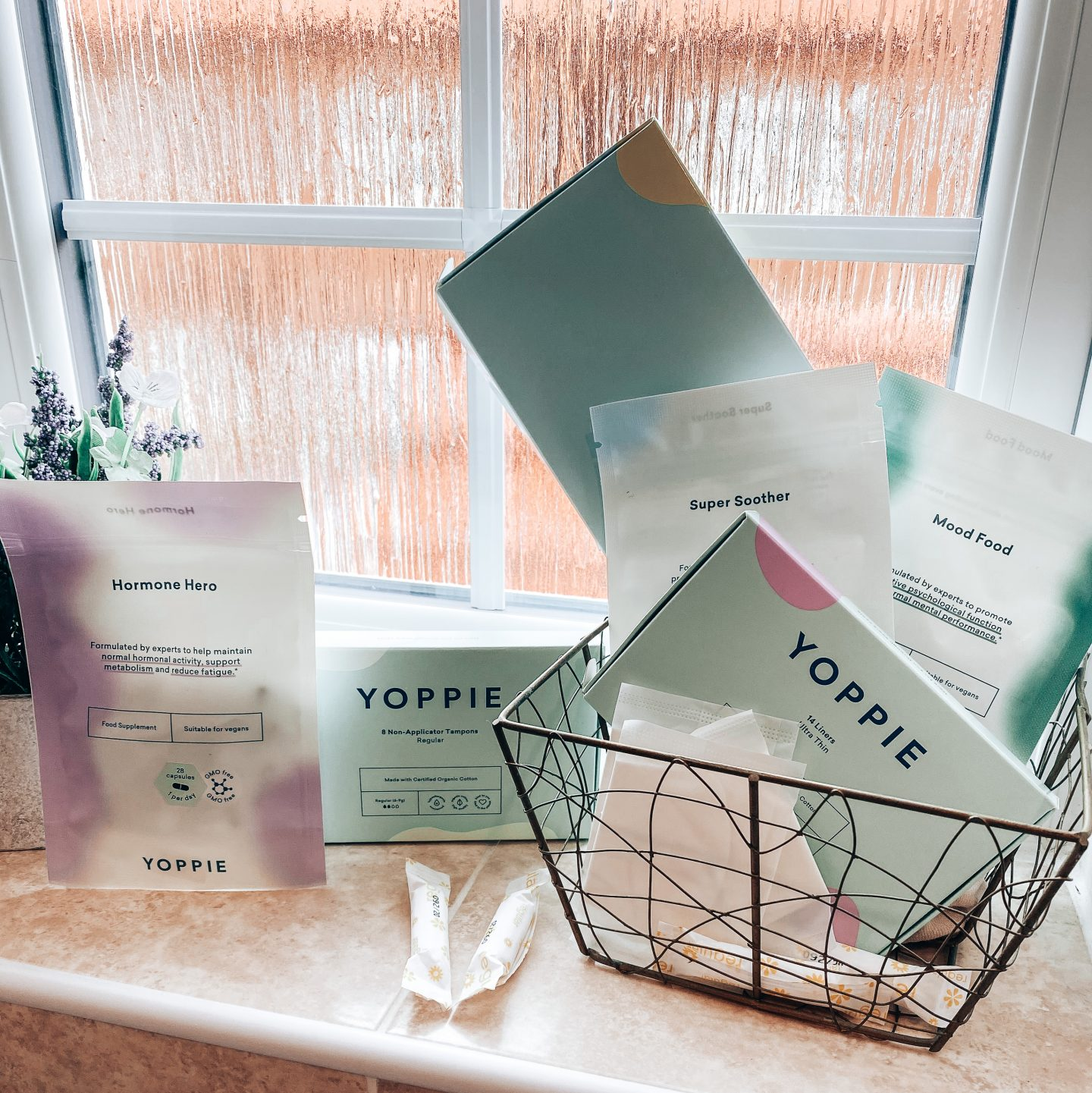 YOPPIE – personalised period products straight to your door